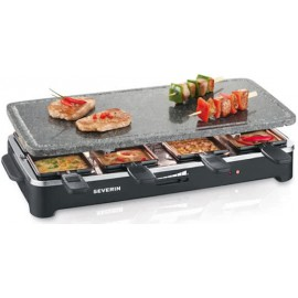 Severin RG2343 Raclette Party Grill met Steengrill