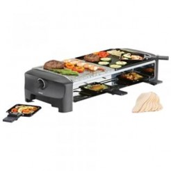 Princess 162820 - Raclette 5 in 1, 8 pannetjes