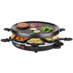 Princess 162725 - Gourmette - Raclette-, gourmet- & grillset in één